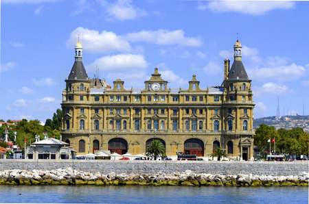 haydarpasa: Istanbul Haydarpasa Terminal or Haydarpasa Terminus (Turkish: Haydarpasa Gari) is a railway terminal in Istanbul. Until 2012 the station was a major intercity, regional and commuter rail hub as well as the busiest railway station in Turkey.