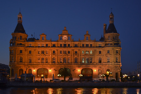 Turkey, Istanbul Haydarpasa Terminal Haydarpasa he Terminus (Turkish: Haydarpasa Main Railway Station) is a railway terminal in Istanbul. Until 2012 the station was a major intercity, regional and commuter rail hub, as well as the busiest railway station