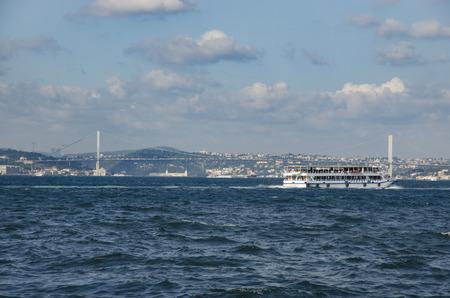 resisting: Istanbul, Turkey - July 26, 2016: Turkey Renames Bosporus Bridge 15th July Martyrs Bridge. Turkish Prime Minister Binali Yildirim says Istanbuls Bosporus Bridge will be renamed July 15th Martyrs Bridge in honor of civilians who died resisting Turke