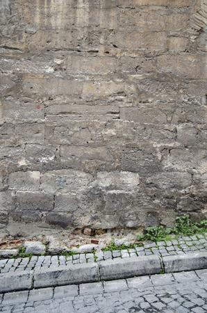 stone path: Historic stone walls, Background-Texture. knitting stone path.