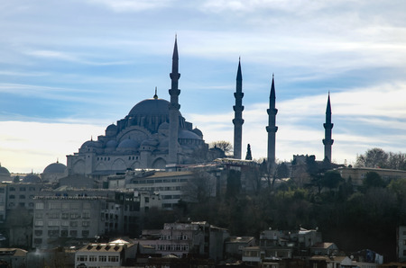 Suleymaniye Mosque (Turkish: Suleymaniye Camii) Silhouettes Appearance. The Süleymaniye Mosque is an Ottoman imperial mosque located on the Third Hill of Istanbul, Turkey. It is the largest mosque in the city, and one of the best known sights of Istanbul.