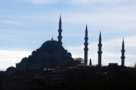 suleyman: Suleymaniye Mosque (Turkish: Suleymaniye Camii) Silhouettes Appearance. The Suleymaniye Mosque is an Ottoman imperial mosque located on the Third Hill of Istanbul, Turkey. It is the largest mosque in the city, and one of the best known sights of Istanbul.