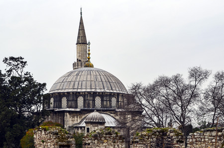 The Sokollu Mehmet Pasha Mosque (Turkish: Sokullu Mehmet Pasa Camii) is an Ottoman mosque located in the Kadirga neighborhood of the Fatih district of Istanbul, Turkey. Sokullu Mehmet Pasha Complex in Kadirga, Construction completed in 1572.
