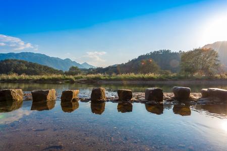 Nature landscape view of Gu Yan village