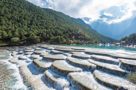 Yunnan Lijiang Yulong Snow Mountain Blue Moon Valley
