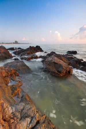 Beautiful nature scenic at seascape.