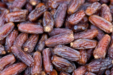 dry fruit: Dried dates Stock Photo