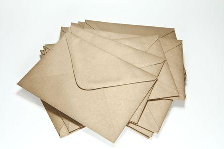 addressee: big pile of scattered envelopes
