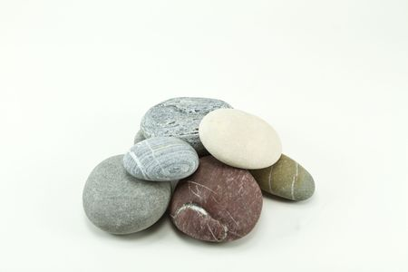 Stacked stones photo