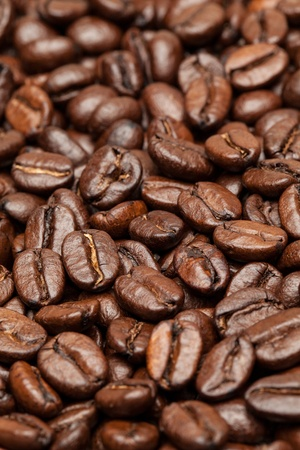 Close-up of coffee beans Stock Photo - 13277273