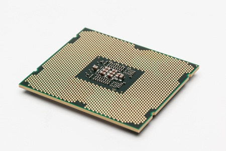 Modern multicore CPU photo