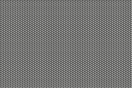 Gray hexagon background Ilustrace