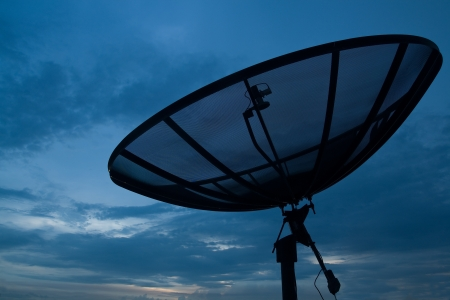 Satellite on the roof Stock Photo - 15350944