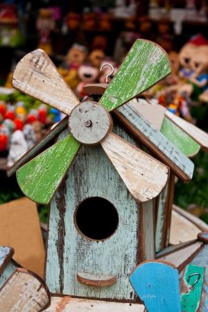 Wind turbine on bird s home Stock Photo - 15350947