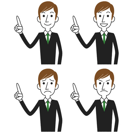 Businessman Pointing Vector
