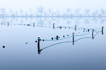 the color of silence: Hangzhou West Lake snow