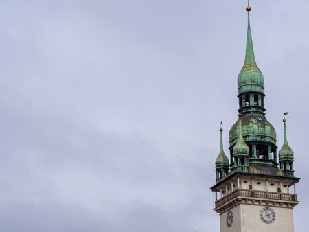 This is the cathedral of Brno. Stockfoto
