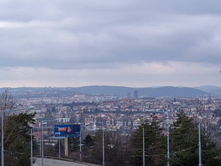 This is panorama of Brno.