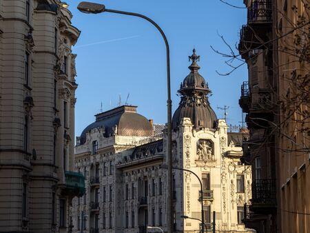 This is Brno street. Stockfoto