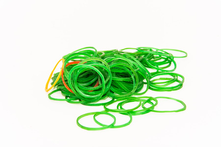 rubber bands: rubber bands isolated