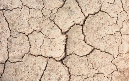 waterless: waterless cracked soil