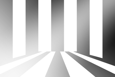 circulate: white and black radian blur abstract background