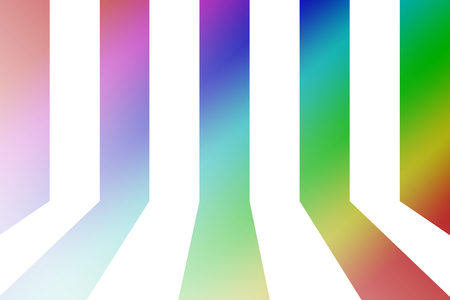 circulate: white and black line with gradient background Stock Photo