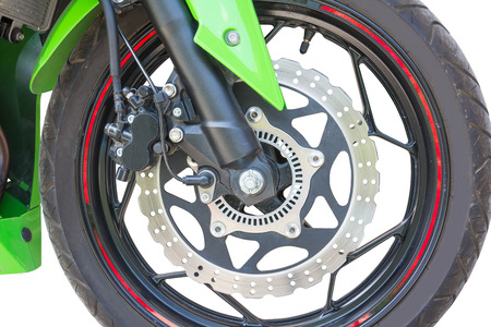 disc brake  of automotive Stock Photo