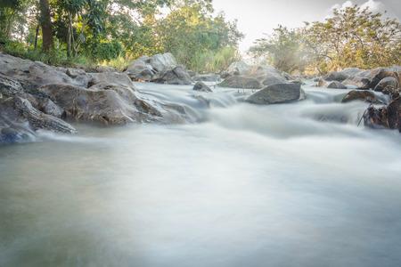 motion blur of Waterfall in Maewong national park at Nakhonsawan, Thailand.