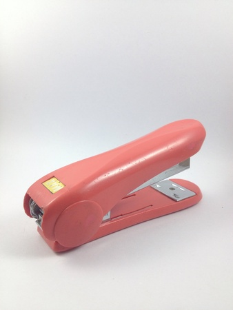 staplers: Acc stapler is in isolated. Stock Photo