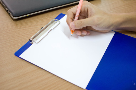 penniless: writting down