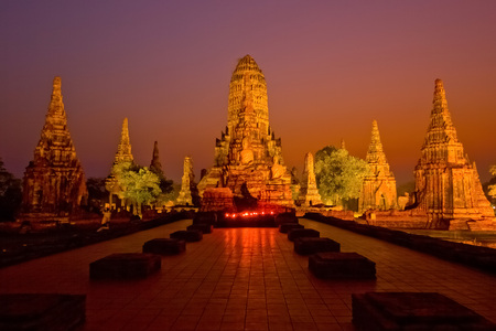 Chai Watthanaram Temple is a Buddhist temple in the city of Ayutthaya Historical Park, Thailand. It is one of Ayutthayas best known temples and a major tourist attraction.
