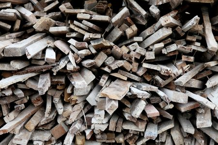 A lot of old pieces of wood Stock Photo - 5880154