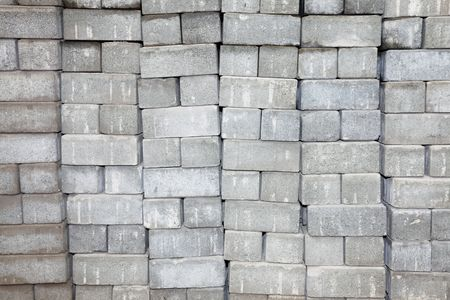 Gray blocks wall empty to insert text or design Stock Photo - 6582285