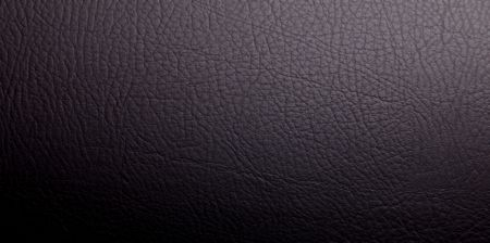 Black leather texture, Empty to insert text or design photo