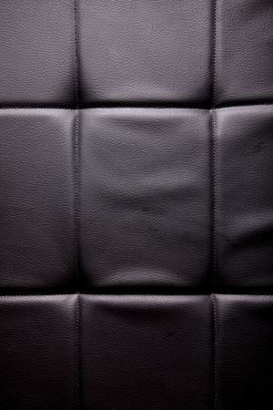 Black leather texture with light. Empty to insert text or design Stock Photo - 6582502