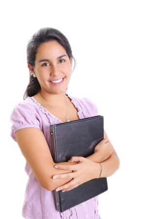 Girl student smiling and looking at the camera Stock Photo - 7267788