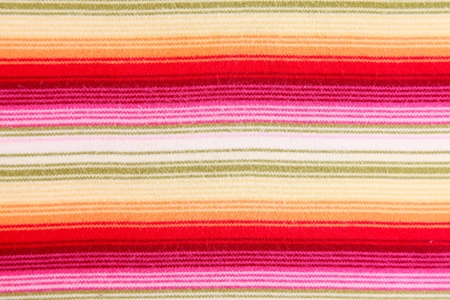 Textile background with lines of various colors photo