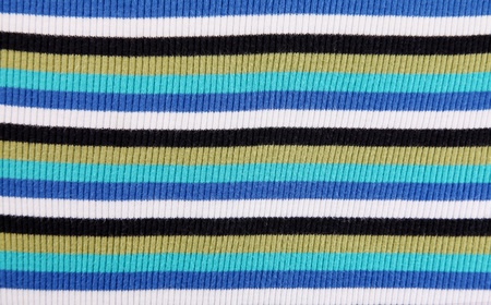 textil: Blue, brown, black and white horizontal lines. Textil background  Stock Photo
