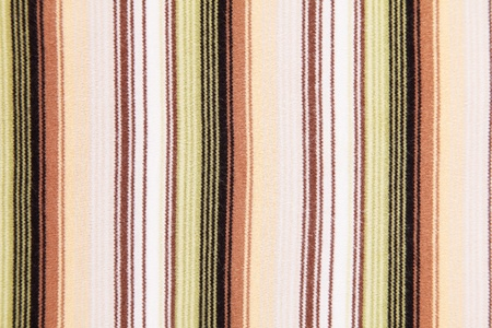 Green,oragen,red,brown, black and white vertical lines. Textil background  photo