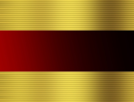 red and  gold abstract background  with texture Stock Photo - 9667037