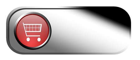 buy button over white background Stock Photo - 9667071