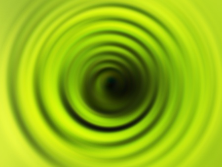 green,black  and yellow swirl. abstract illustration Stock Illustration - 9667135