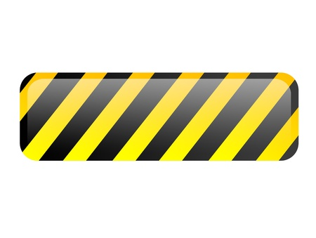 Black and yellow lines. Isolated illustration. Space to insert text Stock Illustration - 9667312