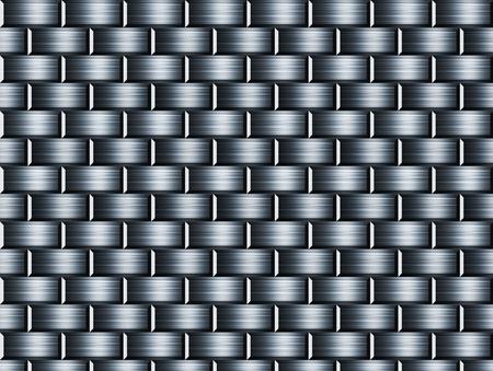 Bricks chrome texture. Empty to insert text or design photo