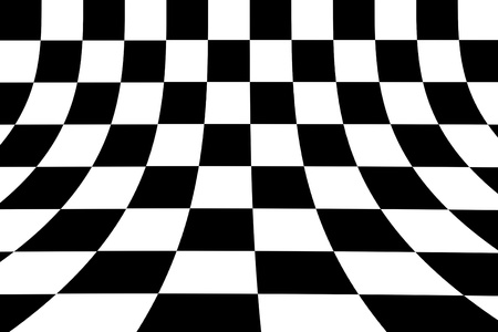 Black and white squares. abstract and dynamic background photo
