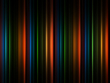 Orange, green, black and green lines background Stock Photo - 9694054
