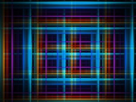 Blue, purple, orange and black background. Illustration Stock Illustration - 9696737