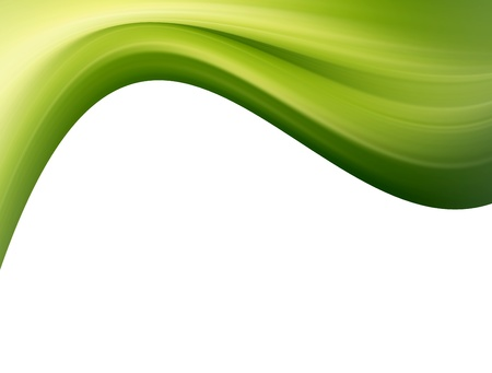 circular wave: Green wave background. White space to insert text or design Stock Photo