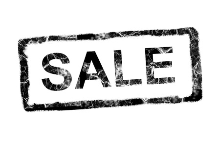 Black sale stamp over white background. Illustration Stock Illustration - 9693737